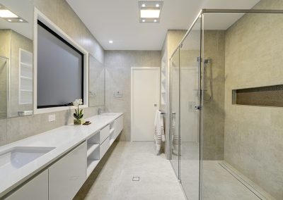 Contemporary bathroom style