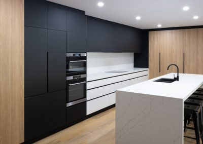 Contemporary Handleless Kitchen