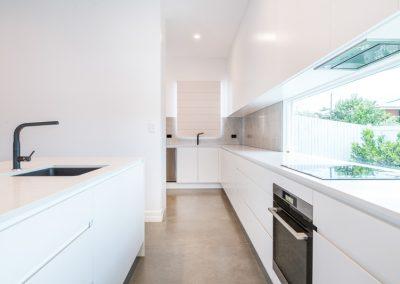 White Minimalist Kitchen