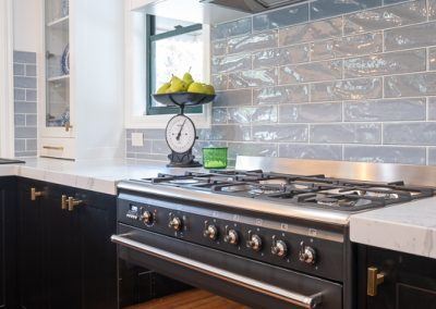 shaker profile kitchen